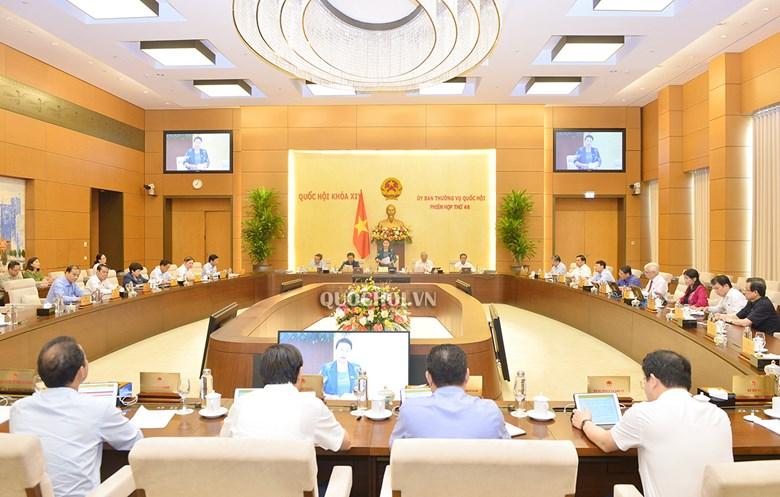 Dự kiến Chương trình phiên họp thứ 47 của Ủy ban Thường vụ Quốc hội