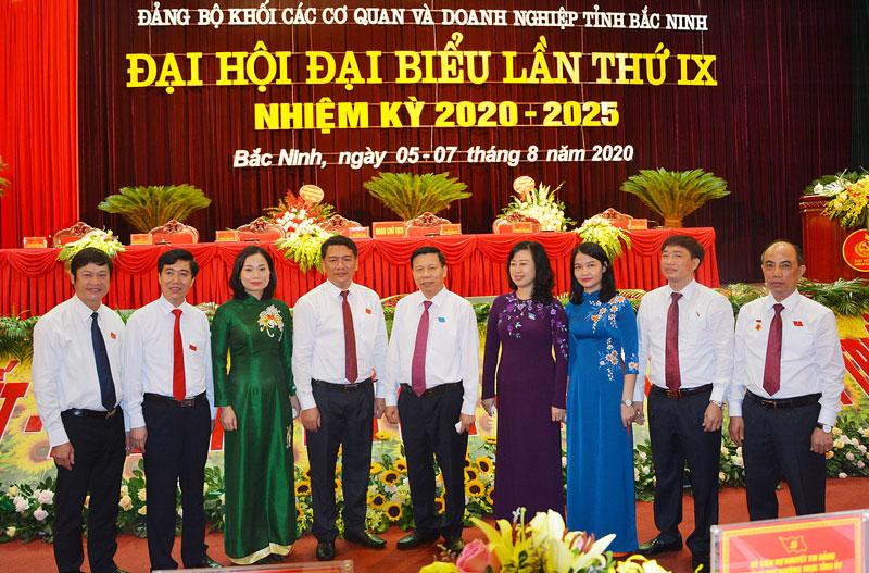 Bắc Ninh Bầu trực tiếp Bí thư Đảng ủy Khối các cơ quan và doanh nghiệp tỉnh