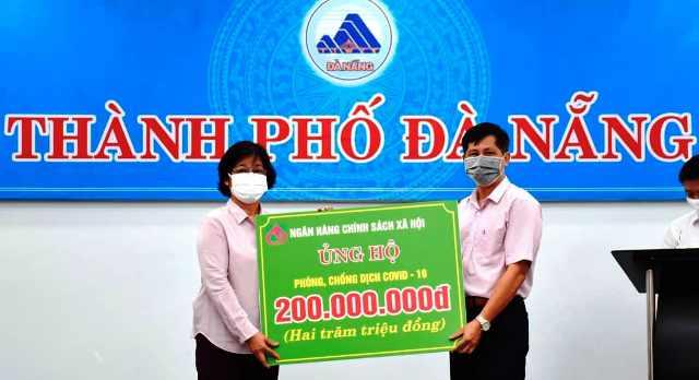 Đà Nẵng Ngân hàng Chính sách xã hội tiếp sức cùng thành phố phòng chống dịch COVID-19