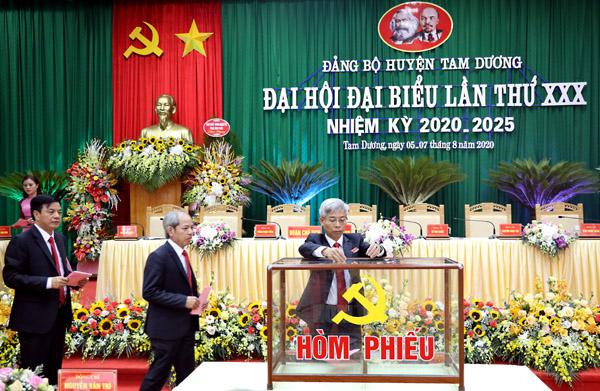 Xây dựng huyện Tam Dương phát triển toàn diện, bền vững
