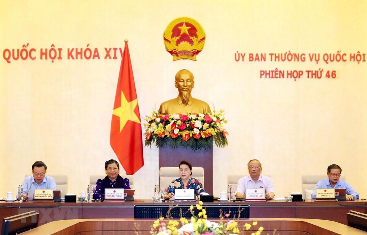 Ngày 10 8 khai mạc Phiên họp thứ 47 của Ủy ban Thường vụ Quốc hội