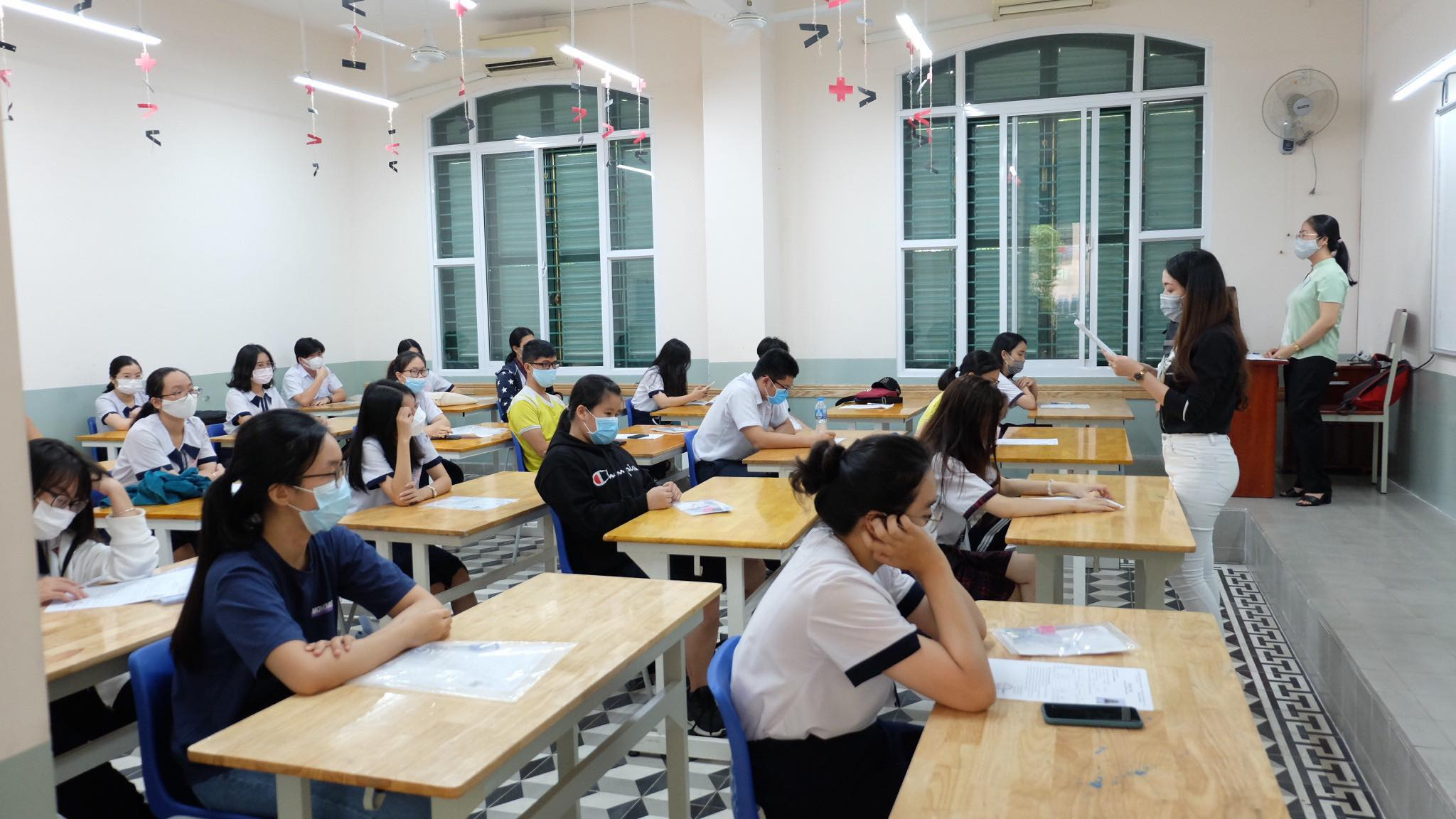 TP Hồ Chí Minh Các điểm thi đảm bảo an toàn cho thí sinh