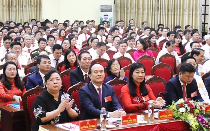 80 đảng bộ cấp trên cơ sở của Hà Nội tổ chức xong đại hội nhiệm kỳ 2020-2025