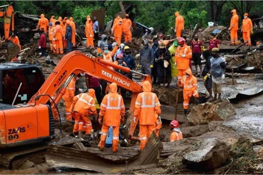 Ấn Độ 29 người chết trong vụ lở đất kinh hoàng
