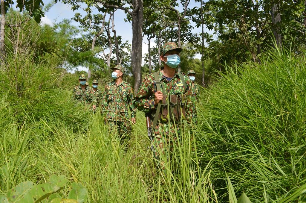 Bộ đội Biên phòng Đắk Lắk quyết tâm không để dịch lây lan qua biên giới