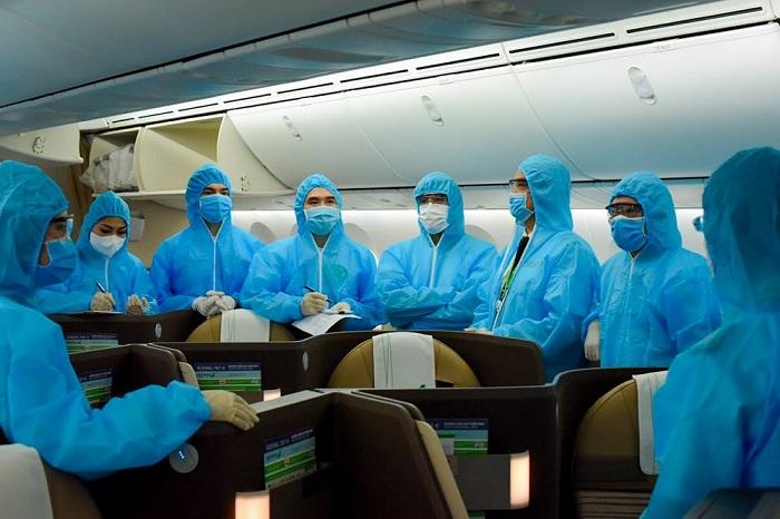 Chuyến bay đặc biệt đến Dubai đưa công dân Việt Nam hồi hương