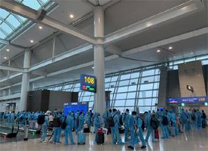 313 công dân Việt Nam từ Hàn Quốc về nước an toàn