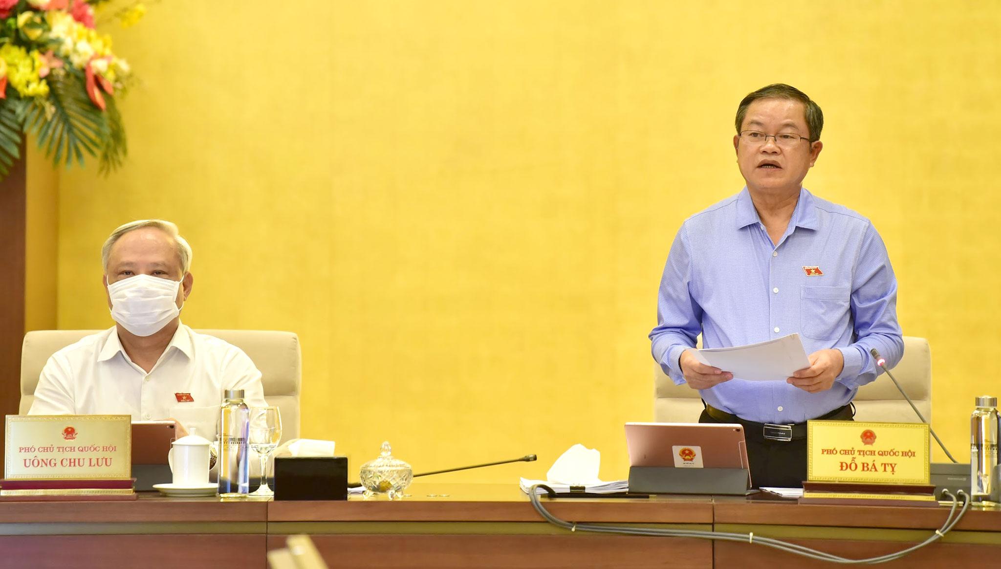 UBTVQH cho ý kiến về dự thảo Luật Biên phòng Việt Nam