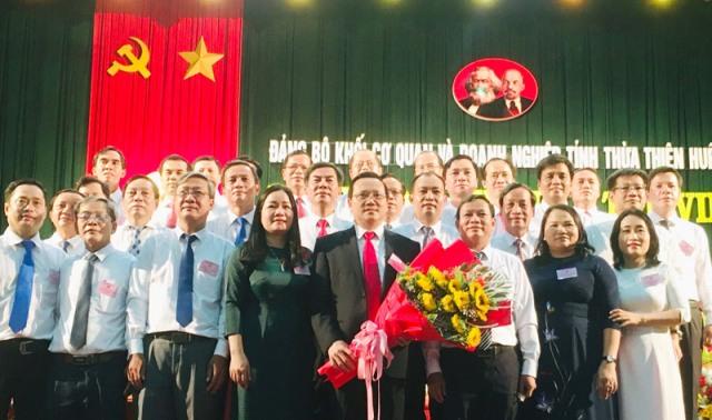 Xây dựng Đảng bộ Khối Cơ quan và Doanh nghiệp tỉnh Thừa Thiên Huế trong sạch, vững mạnh toàn diện