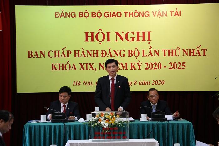 Đại hội Đảng bộ Bộ Giao thông Vận tải lần thứ XIX thành công tốt đẹp