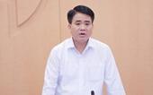 Đình chỉ sinh hoạt BCH, Ban Thường vụ, Phó Bí thư Thành uỷ Hà Nội đối với đồng chí Nguyễn Đức Chung