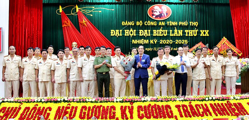 Đại tá Phạm Trường Giang được bầu giữ chức Bí thư Đảng ủy Công tỉnh Phú Thọ