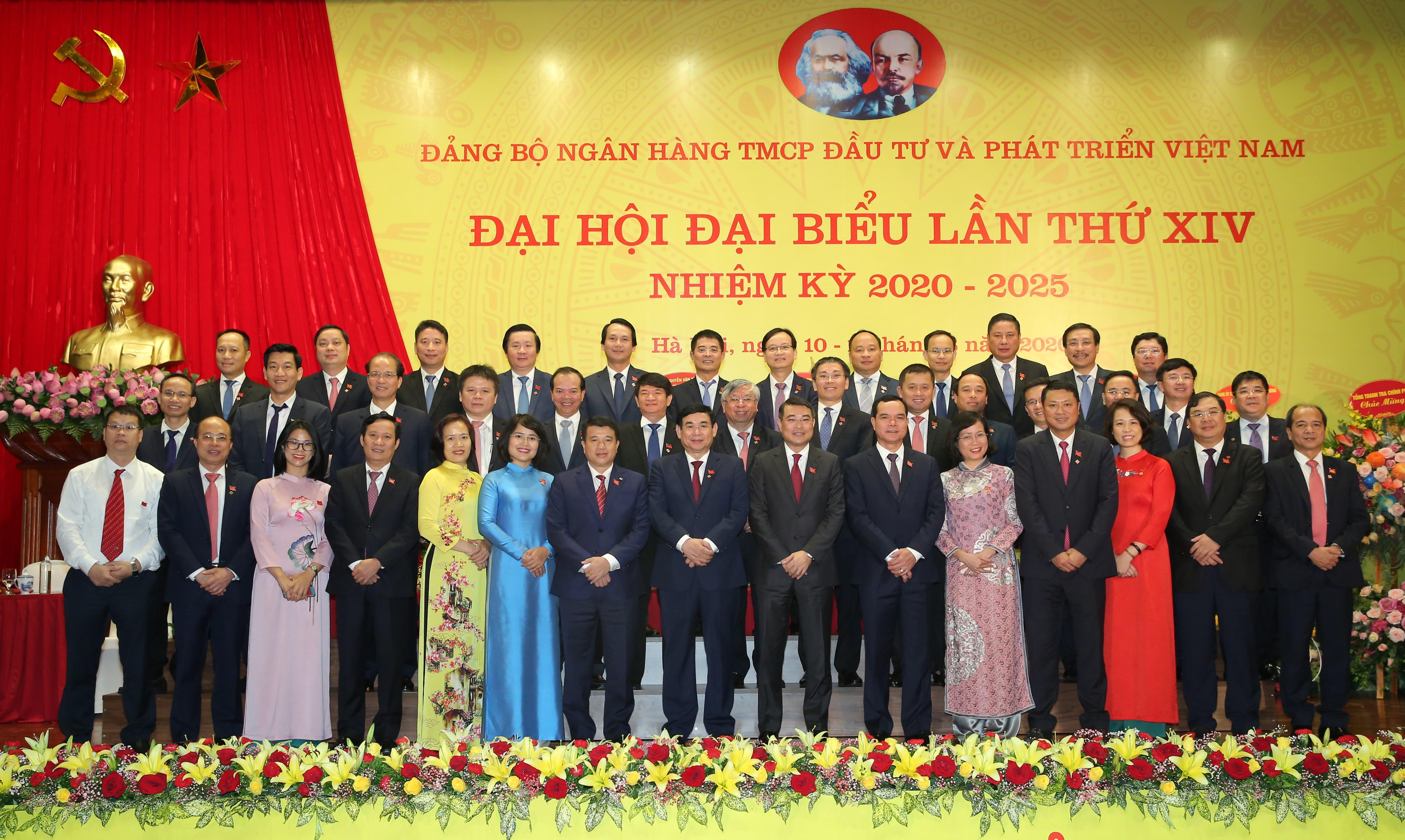 Đảng bộ BIDV tổ chức thành công Đại hội đại biểu lần thứ XIV