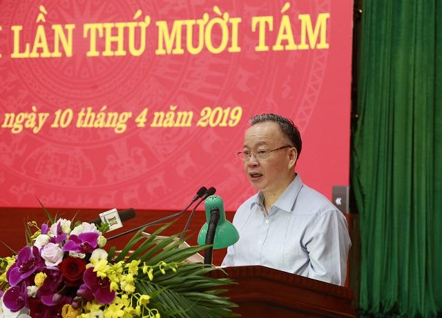 Phân công phụ trách điều hành Ban Cán sự đảng UBND TP Hà Nội