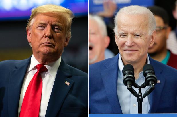 Ông Joe Biden thắng áp đảo Tổng thống Trump trong các cuộc bầu cử mô phỏng