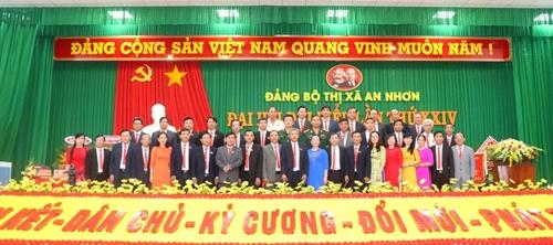 Đại hội Đảng bộ Thị xã An Nhơn Bình Định bầu trực tiếp bí thư tại đại hội
