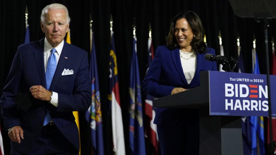 Bầu cử Mỹ 2020 Ông Joe Biden bội thu sau khi công bố liên danh tranh cử
