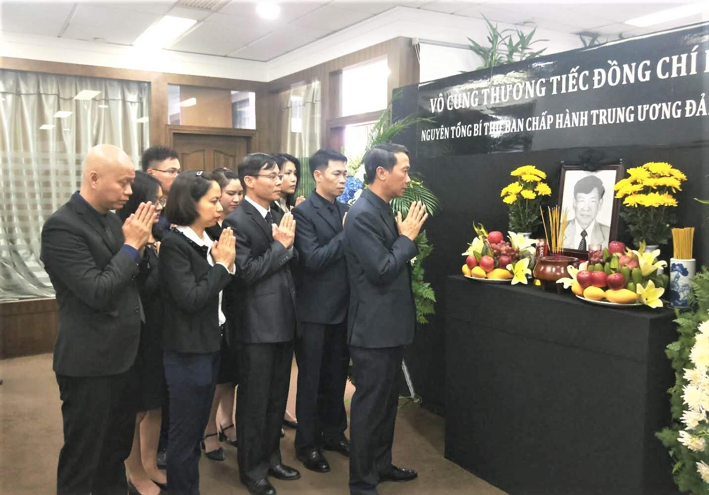 Lễ viếng nguyên Tổng Bí thư Lê Khả Phiêu tại Côn Minh, Trung Quốc