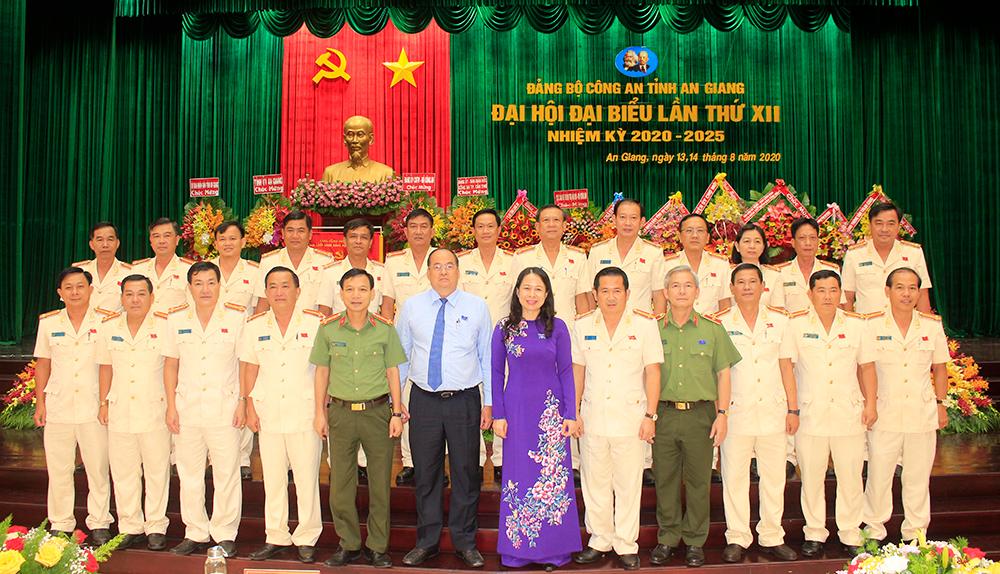 Đại tá Đinh Văn Nơi giữ chức Bí thư Đảng ủy Công an tỉnh An Giang