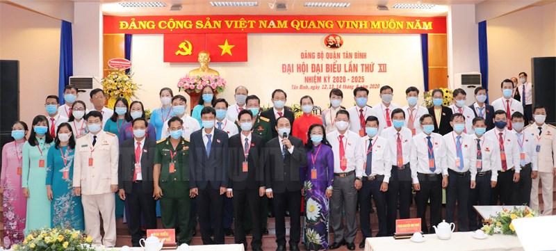Xây dựng Quận Tân Bình phát triển bền vững, an dân, văn minh, hiện đại, nghĩa tình