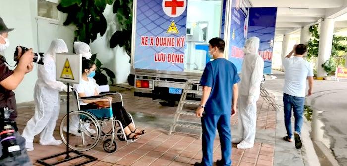Diễn tập vận hành Bệnh viện dã chiến Tiên Sơn Đà Nẵng