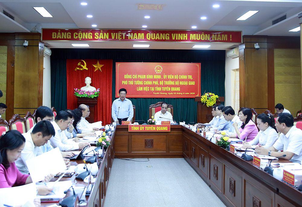 Tuyên Quang phấn đấu là hình mẫu phát triển lâm nghiệp của cả nước