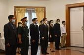 Đại sứ quán Việt Nam tại Indonesia tổ chức lễ viếng và mở Sổ tang Đồng chí Lê Khả Phiêu