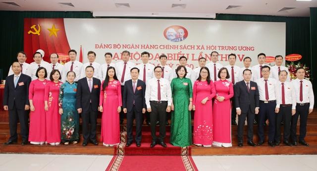 Đại hội đại biểu Đảng bộ Ngân hàng Chính sách Xã hội Trung ương lần thứ V