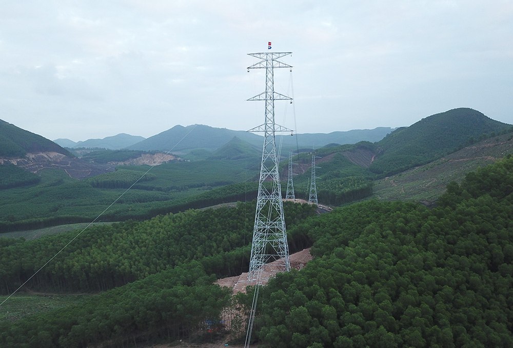 Quảng Nam đồng ý chuyển đổi hơn 127 ha đất rừng để xây dựng đường dây 500kV mạch 3