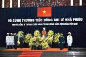 Lãnh đạo các nước gửi điện, thư chia buồn về việc nguyên Tổng Bí thư Lê Khả Phiêu từ trần