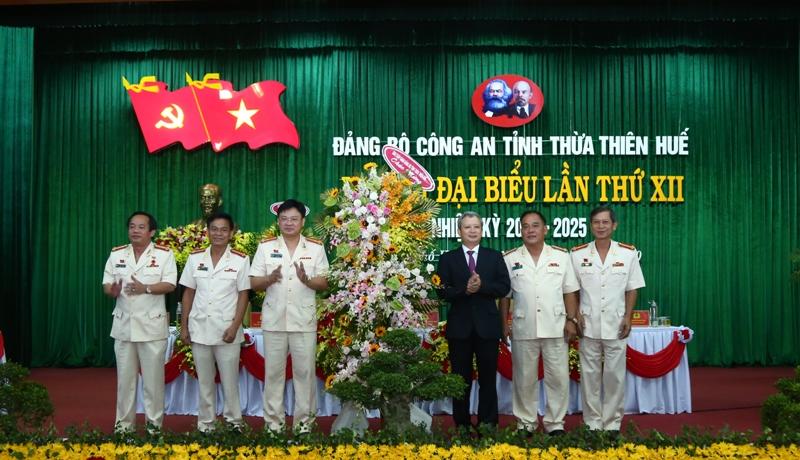 Thượng tá Nguyễn Thanh Tuấn giữ chức Bí thư Đảng ủy Công an tỉnh Thừa Thiên Huế