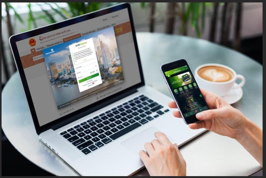 Vietcombank tiên phong cung cấp dịch vụ thanh toán trực tuyến cho các dịch vụ trên Cổng dịch vụ Công quốc gia