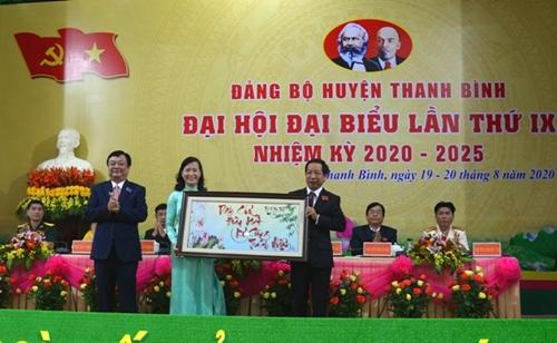 Đồng Tháp Đảng bộ huyện Thanh Bình và Lai Vung tổ chức thành công Đại hội