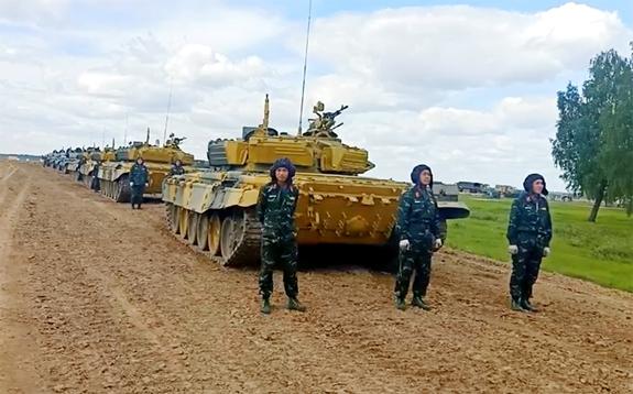 Hôm nay, Army Games 2020 chính thức khai mạc tại Liên bang Nga