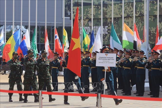 Ấn tượng Việt Nam tại Diễn đàn Kỹ thuật Quân sự quốc tế và Hội thao Quân sự quốc tế 2020