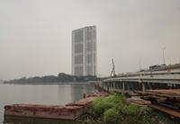 Hà Nôi Cầu vượt hồ Linh Đàm sắp hoàn thành