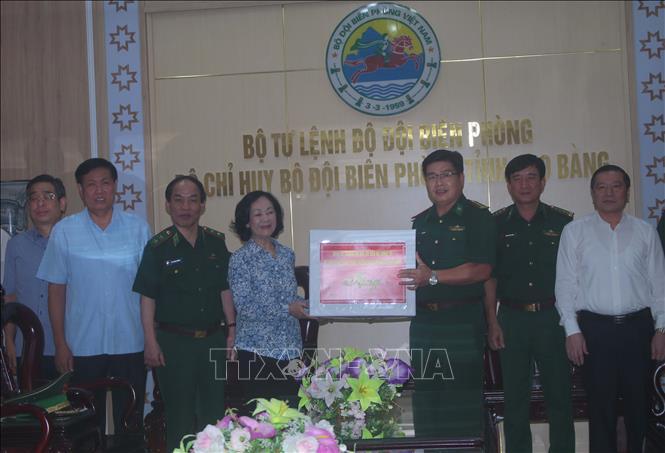 Trưởng ban Dân vận Trung ương Bộ đội Biên phòng nêu cao tinh thần trách nhiệm, thực hiện tốt nhiệm vụ phòng, chống dịch COVID-19