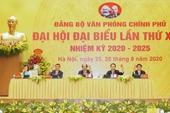 Đảng bộ Cơ quan Văn phòng Quốc hội tiếp tục đổi mới