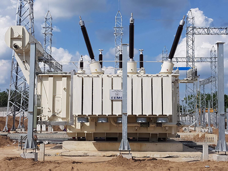 Cuối tháng 9, đóng điện giai đoạn 1 TBA 220 kV Tây Ninh 2