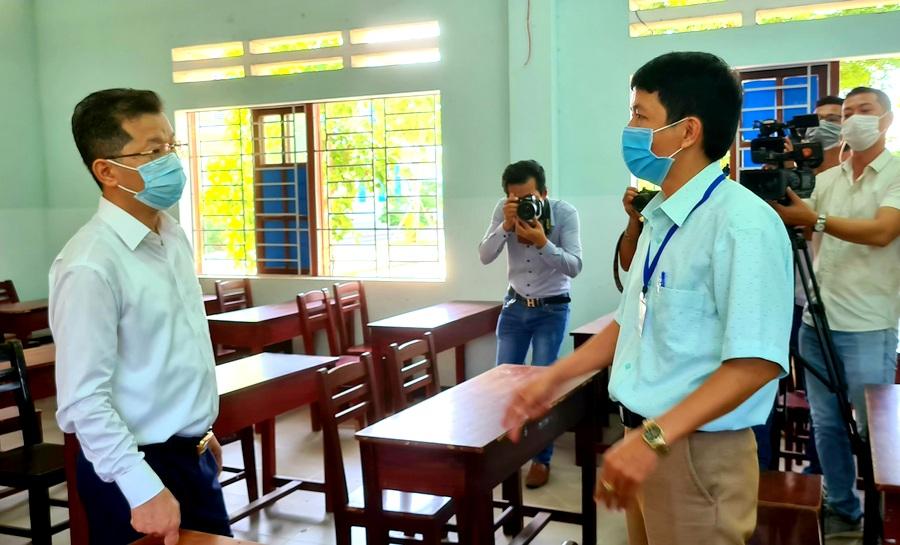 Đà Nẵng Đảm bảo an toàn tuyệt đối tại điểm thi THPT Võ Chí Công