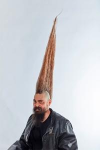 Kiểu tóc Mohawk có chiều cao kỷ lục