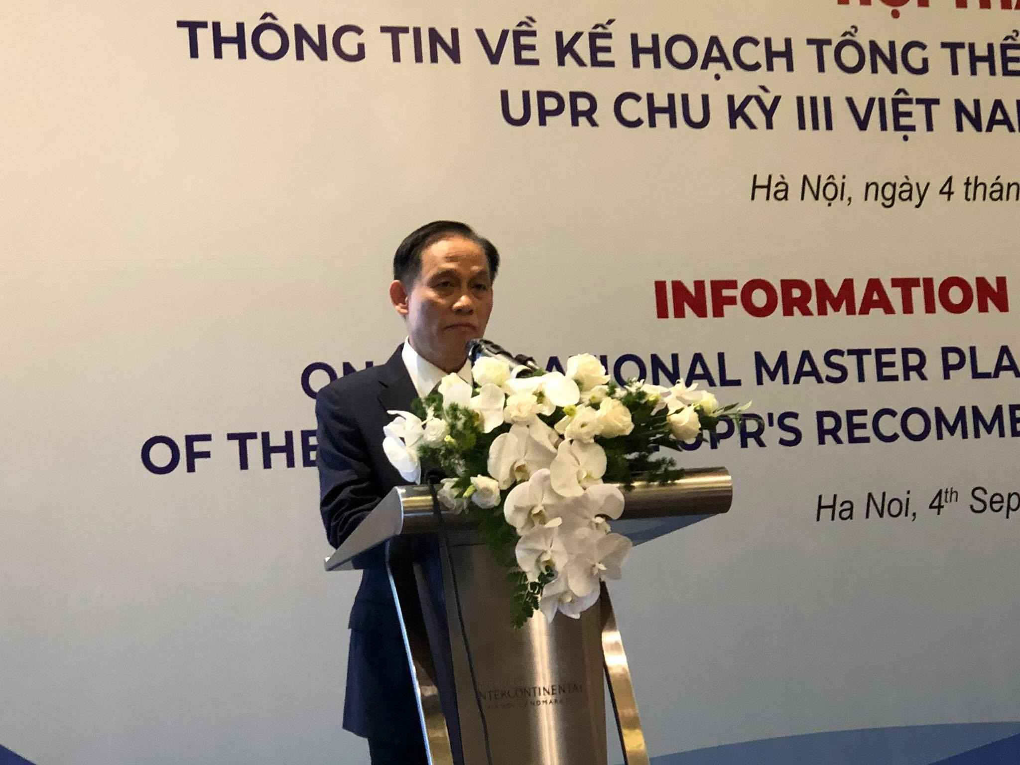 Việt Nam coi trọng và tham gia đầy đủ, nghiêm túc vào cơ chế UPR