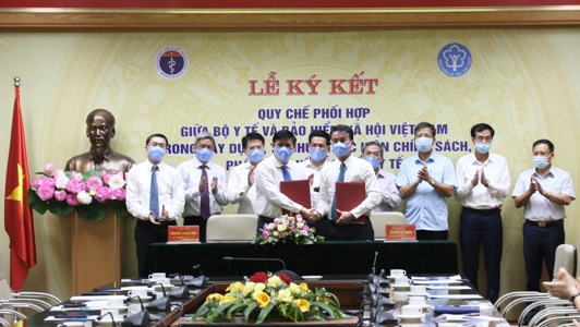 Bộ Y tế và BHXH Việt Nam tăng cường phối hợp trong xây dựng, thực hiện chính sách, pháp luật BHYT