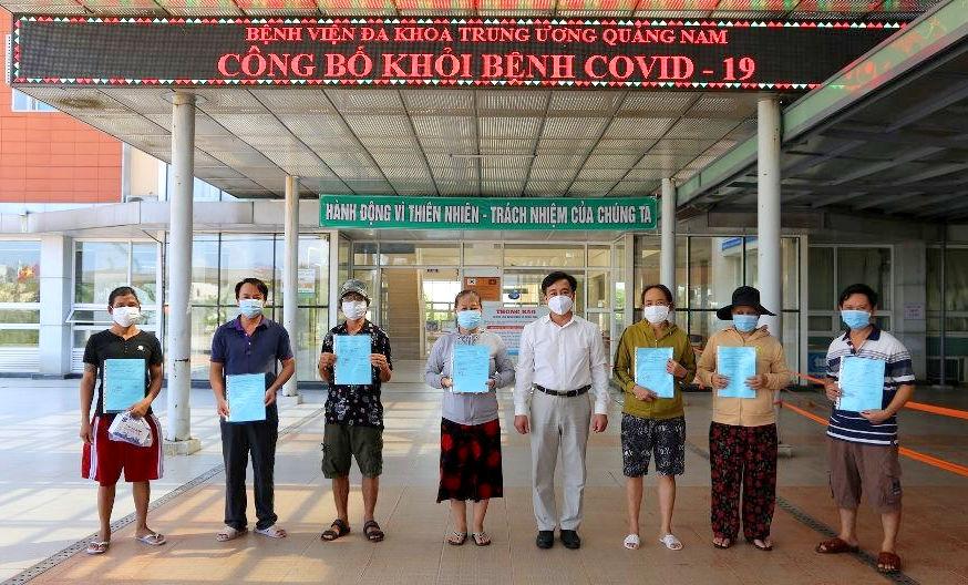 13 bệnh nhân COVID-19 tại Quảng Nam xuất viện
