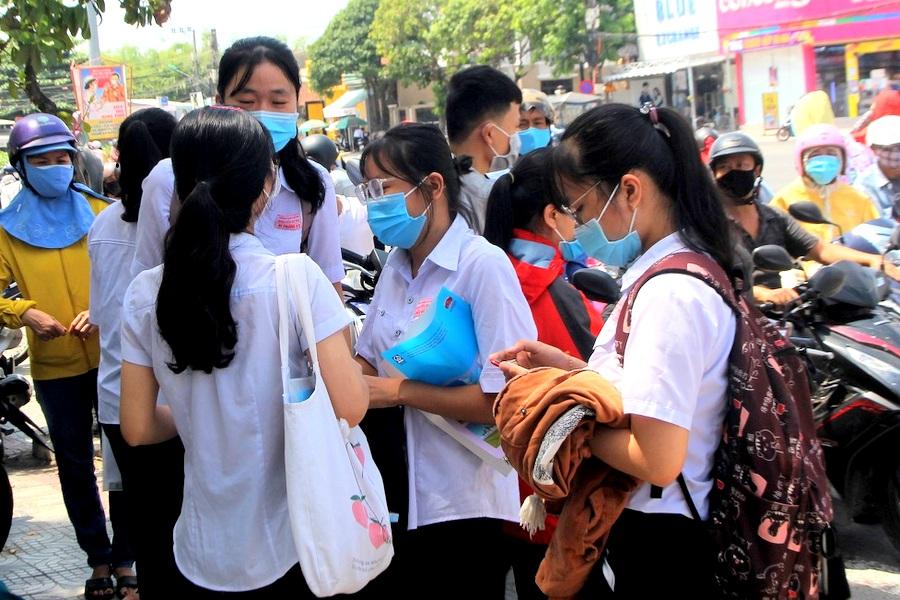 Quảng Nam Thí sinh làm được bài vì đề thi không khó