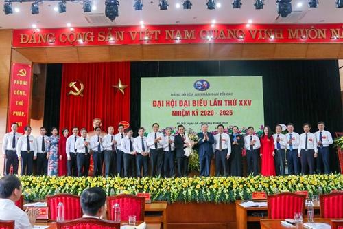 Đại hội đại biểu Đảng bộ Tòa án nhân dân tối cao lần thứ 25, nhiệm kỳ 2020-2025