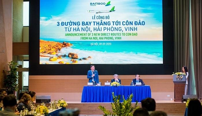 Mở đường bay thẳng Côn Đảo – Hà Nội, Hải Phòng, Vinh từ 29 9
