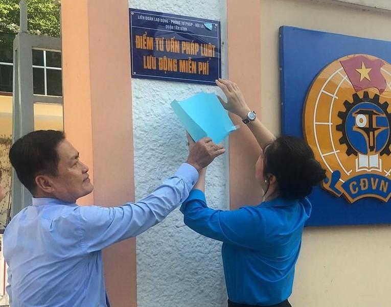 TP Hồ Chí Minh Lập 15 điểm tư vấn pháp luật lưu động miễn phí