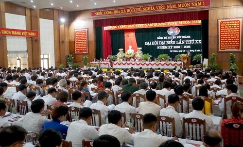 Đảng bộ huyện Núi Thành chú trọng công tác xây dựng đảng