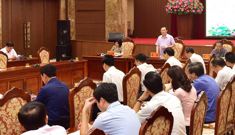 Hà Nội xác định mục tiêu tăng trưởng kinh tế năm 2020 từ 4,5 đến 5